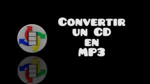 conversion CD MP3