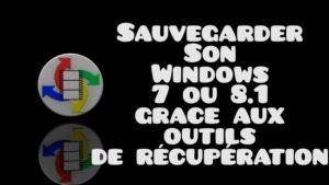 Sauvegarder son Windows