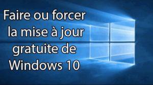 mettre a jours sous windows 10