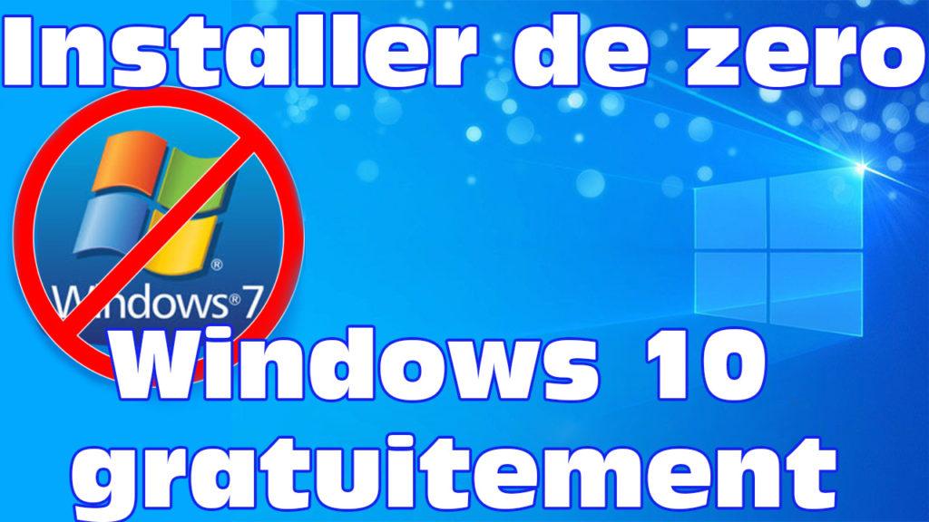 Windows 7 à Windows 10